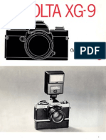 Minolta XG-9 - Manual
