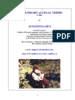 Legal Glossary E-R - Print Format doc, Font 11