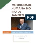 Motricidade Humana no RJ - por Rosa M. Prista