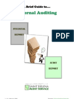 A Brief Guide to External Auditing