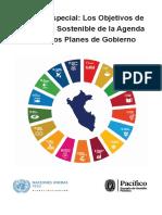 Objetivos de Desarrollo Sostenible de la Agenda 2030 y los Planes de Gobierno