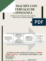 4 ESTIMACIÓN CON INTERVALO DE CONFIANZA Completa