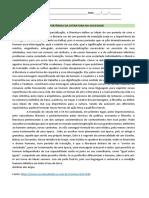 A IMPORTÂNCIA DA LITERATURA NA SOCIEDADE
