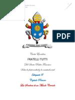 Catequesis No. 3 Fratelli Tutti