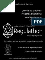 Regulathon - Maratona Regulatória