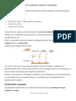 Reação de combustão completa e incompleta (2)