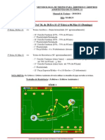 Plano de treinos Março2011