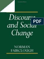 Fairclough 1992 Discourse and Social Change