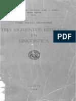 Tres Momentos Estelares de La Lingüística by Jaime Bernal Leongómez (Z-lib.org)