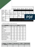 AS survey campaign sample
