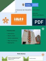 Empresa hospital general, evidencia mapa de procesos, organigrama, ficha técnica