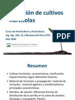 Teórico Iniciación olericultura