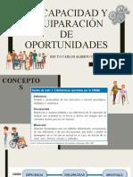 DISCAPACIDAD Y EQUIPARACIÓN DE OPORTUNIDADES (1)