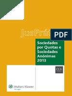 JusPratico Sociedades Por Quotas e Anonimas Paginas de Exemplo