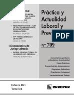 Práctica Laboral 709 - Febrero 2021