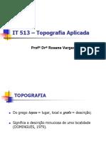 Conceitos Fundamentais - Topografia Aplicada