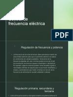 Control de frecuencia eléctrica