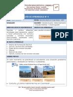 GUÍA DE APRENDIZAJE 4° No. 4