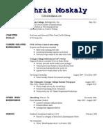 Resume without address