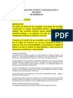 FUSION Y TRANSFORMACION DE SOCIEDADES 27022021