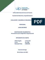Investigación Colaborativa - Herramientas para Diagnóstico Organizacional