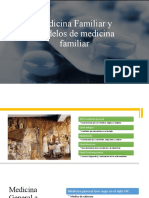 Medicina Familiar y Modelos de medicina familiar