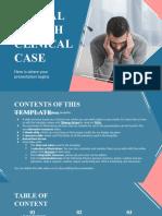 Mental Health Clinical Case _ by Slidesgo