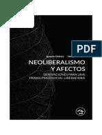 Neoliberalismo y Afectos Derivaciones Para Una Praxis Social Liberadora