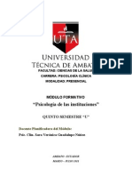módulo de psic. institucional 2