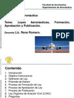 Tema 2- Leyes Aeronáutica, Formación, Aprobación y Publicación
