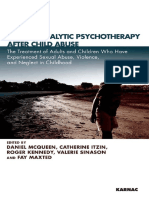 Psychoanalytic Psychotherapy After Child Abuse the Treatment of Adults and Children Who Have Experienced Sexual Abuse, Violence, And Neglect in Childhood by Daniel McQueen, Roger Kennedy, Valerie Sina (Z-lib.org)