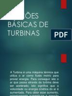 NOÇÕES BÁSICAS DE TURBINAS