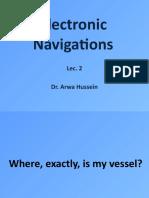 Electronic Navigations Lec 2