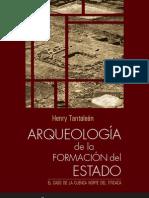Arqueología de la formación del Estado. El Caso de la Cuenca Norte del Titicaca
