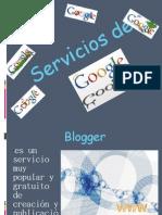 Lista de servicios de Google Inc