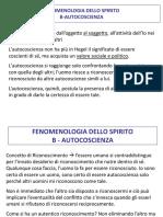 FENOMENOLOGIA DELLO SPIRITO 3