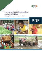 Farm Livelihoods Interventions Under DAY NRLM