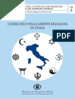 Esercizio Liberta Religiosa Italia