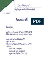 osmolarite