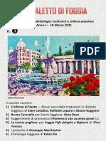 Il Dialetto Di Foggia N.3 Del 10-03-2021
