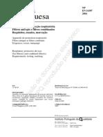 En 14387 2004 Filtros Anti-gás e Filtros Combinados