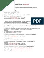 Accords Jazz & notation