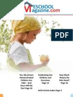 Home School Magazine Newest Issue
