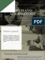 Metas año académico 2021