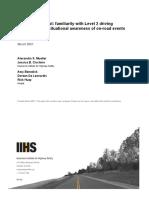 IIHS Level 2 Autonomy Report