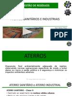 ATERROS SANITARIOS E INDUSTRIAIS 2020