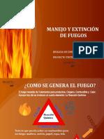 Manejo y Extinción de Fuegos