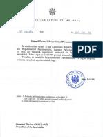 Proiect de lege privind indexarea pensiilor inițiat de președintele Maia Sandu