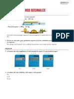 Unidad (5) Números decimales