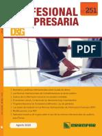 Profesional y Empresaria 251 - Agosto 2020